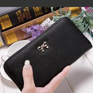 レディース 長財布 ブラック 新品 大特価 送料無料(財布)