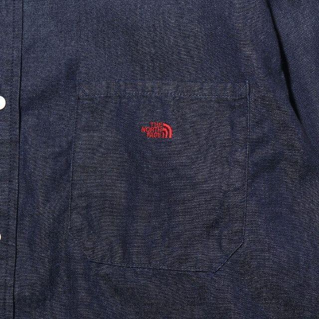 THE NORTH FACE(ザノースフェイス)の新品未使用 Light Denim B.D. shirt メンズのトップス(シャツ)の商品写真