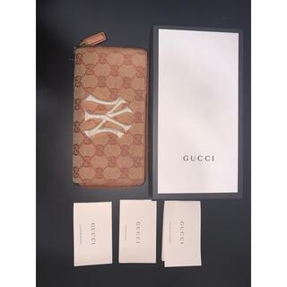 Gucci - GUCCI ヤンキース ジップアラウンド 長財布