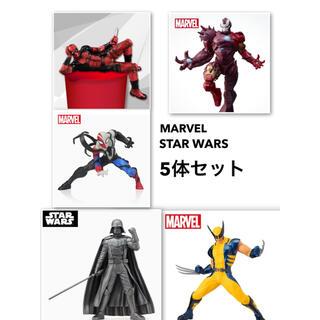 マーベル(MARVEL)の【新品未開封】 フィギュア5体セット MARVEL & STAR WARS(アメコミ)
