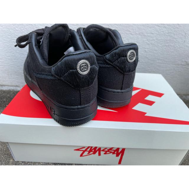 STUSSY(ステューシー)のNIKE × stussy airforce1  トリプルブラック 25cm メンズの靴/シューズ(スニーカー)の商品写真