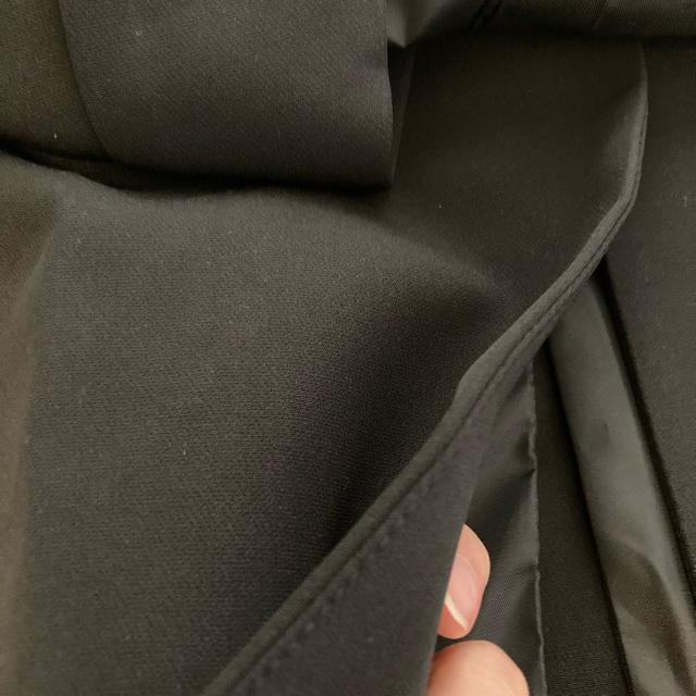 ZARA(ザラ)のテーラード カラー 襟 ジレ ベスト スリット 入り 黒 ZARA dholic レディースのトップス(ベスト/ジレ)の商品写真