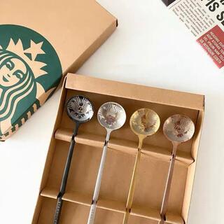 Starbucks Coffee - 【スターバックス台湾】4本セット 日本未発売 コーヒースプーン マドラースプーン
