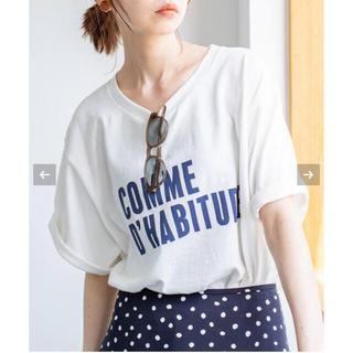 IENA - IENA Tシャツ COMME DHABITUDE Tシャツ
