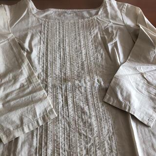 ムジルシリョウヒン(MUJI (無印良品))の無印良品 生成り コットンシャツ S(Tシャツ(長袖/七分))