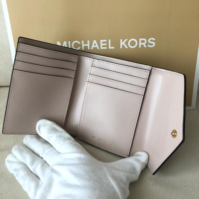 Michael Kors(マイケルコース)の新品★MICHAEL KORS 2021年春夏新作 定価19,800円 三つ折り レディースのファッション小物(財布)の商品写真