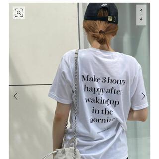 DEUXIEME CLASSE - Deuxieme Classe SKIN/スキン】BACK PRINT Tシャツ