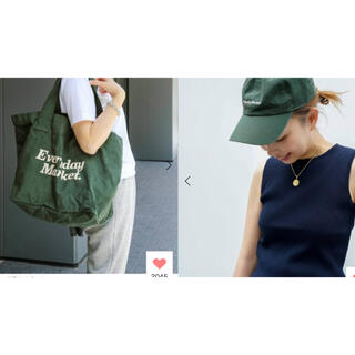 DEUXIEME CLASSE - Deuxieme Classe SKIN/スキン】MARKET TOTE CAP