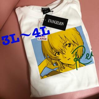 綾波レイ♡Tシャツ♡エヴァンゲリオン♡コラボ♡限定♡ビッグシルエット♡(その他)