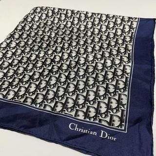 Christian Dior - Christian Dior ディオール スカーフ ハンカチ トロッター 柄