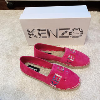 KENZO - 新品♡ケンゾーKENZO エスパドリーユ フラットシューズ 38