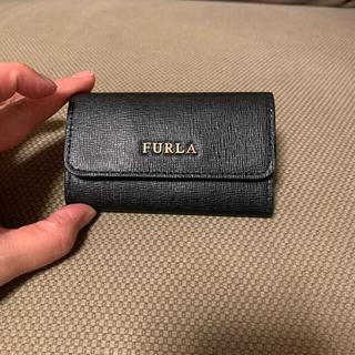 フルラ(Furla)のFURLA  キーケース BLACK   ★美品★(キーケース)