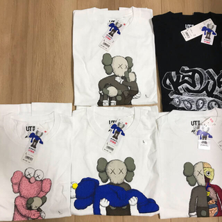 UNIQLO - KAWS × UNIQLO Tシャツ カウズ ユニクロ 新品未使用 5枚セット