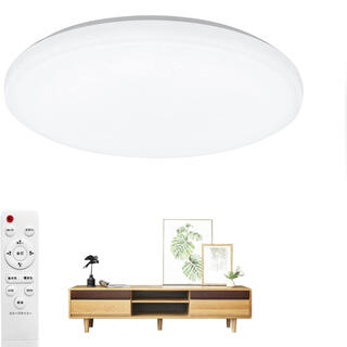 LEDシーリングライト 6畳 連続調光調色 28W 3080lm照明器具 (天井照明)