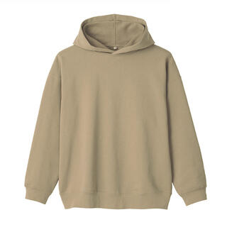 ムジルシリョウヒン(MUJI (無印良品))の高密度編み裏毛プルオーバーパーカー (パーカー)