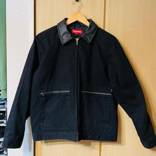 Supreme - Supreme /Leather Collar Work Jacket