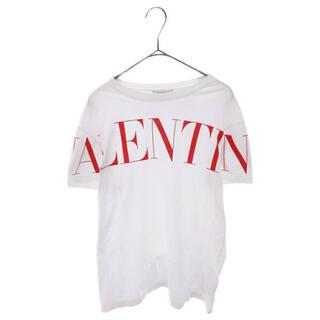 ヴァレンティノ(VALENTINO)のVALENTINO 20SSロゴプリント半袖Tシャツ(Tシャツ(半袖/袖なし))