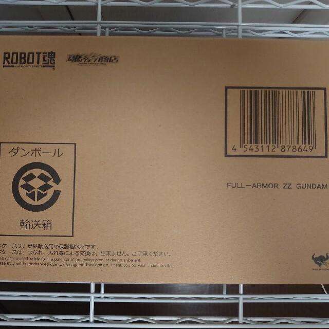 BANDAI(バンダイ)のROBOT魂 フルアーマーZZガンダム エンタメ/ホビーのフィギュア(アニメ/ゲーム)の商品写真