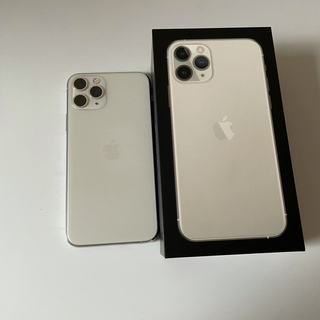 Apple - iphone 11 Pro シルバー 256GB
