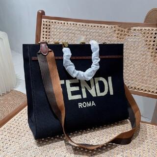 フェンディ(FENDI)の極上美品 Fendi トートバッグ  (ボトル・ケース・携帯小物)