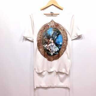 Vivienne Westwood - ヴィヴィアンウエストウッド 絵画プリント ロング丈 Tシャツ 44