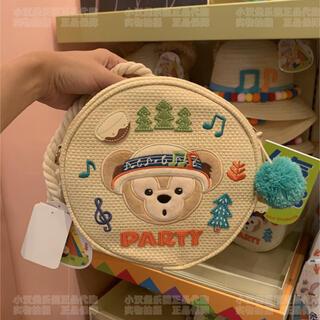 ダッフィー - 上海ディズニーランド ダッフィー  ショルダーバッグ ポシェット 小物入れ