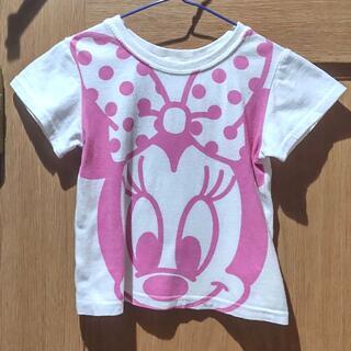 ニシマツヤ(西松屋)のディズニー ミニーちゃんのTシャツ サイズ95 同梱無料(Tシャツ/カットソー)