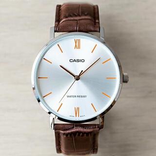 カシオ(CASIO)の【40mmサイズ】日本未発売 CASIO スタンダード アナログ 腕時計(腕時計(アナログ))