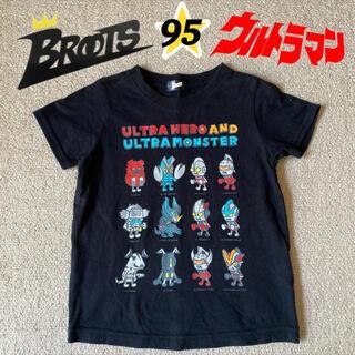 バンダイ(BANDAI)のBROOTS/ウルトラマン 怪獣 プリントTシャツ 95cm(Tシャツ/カットソー)