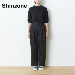Shinzone - Shinzone / トムボーイパンツ ブラック - 38size