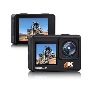 【2021最新版】 Campark アクションカメラ 4K/30FPS 24MP