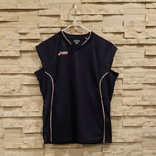 アシックス(asics)のアシックス/フレンチ・スリーブ/ゲームシャツ(Tシャツ(半袖/袖なし))