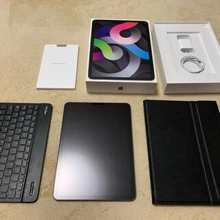 Apple - 【超美品】 iPad air4 64GB ワイヤレスキーボード&ケース付き