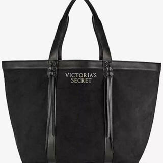 ヴィクトリアズシークレット(Victoria's Secret)のヴィクシー VS ブラックフリンジキャンバストートバッグ(トートバッグ)