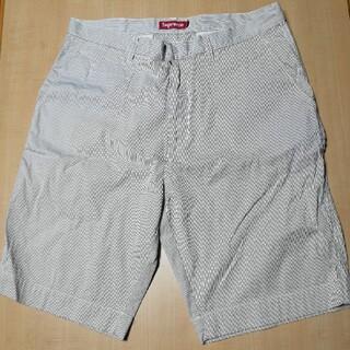 シュプリーム(Supreme)の2009s/s stripe short ストライプショーツ 34(ショートパンツ)