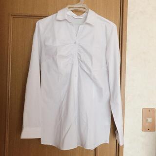 アオキ(AOKI)の形状記憶 Yシャツ 青木 青ストライプ(シャツ/ブラウス(長袖/七分))