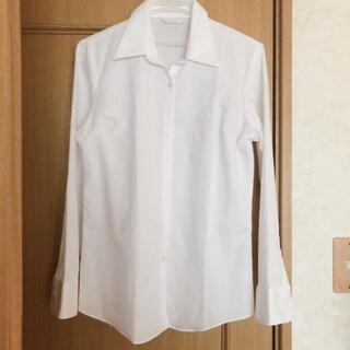 アオキ(AOKI)の形状記憶 Yシャツ 青木 白(シャツ/ブラウス(長袖/七分))
