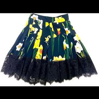 DOLCE&GABBANA - Dolce & Gabbana スカート 花柄 ドルガバ