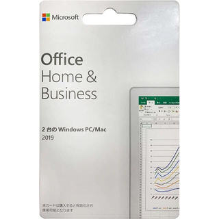 Microsoft - セール!!Office 2019 Home and Business 保証あり!