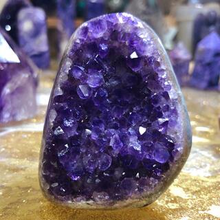 アメジスト 原石 かわいい♥︎ ミニドーム 紫水晶(置物)
