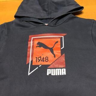 プーマ(PUMA)のプーマ スウェット パーカー フロントビッグポケット ビッグプリント 3L(パーカー)