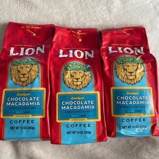 LION - ハワイライオンコーヒー チョコレートマカダミア283g 10オンス3個セット