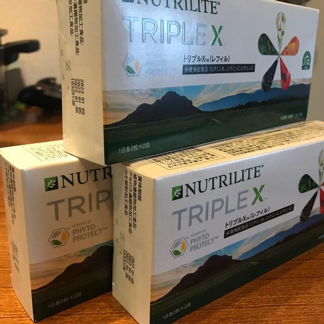 Amway(アムウェイ)のニュートリライト トリプルX 食品/飲料/酒の健康食品(ビタミン)の商品写真