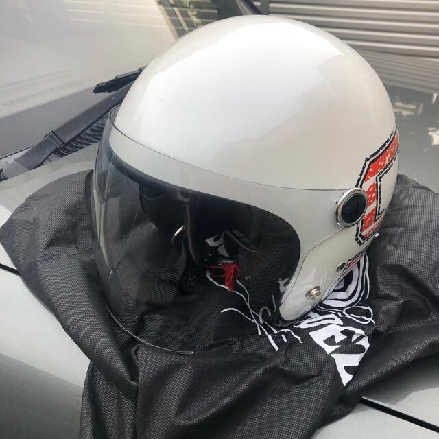 ジェットヘルメット 自動車/バイクのバイク(装備/装具)の商品写真