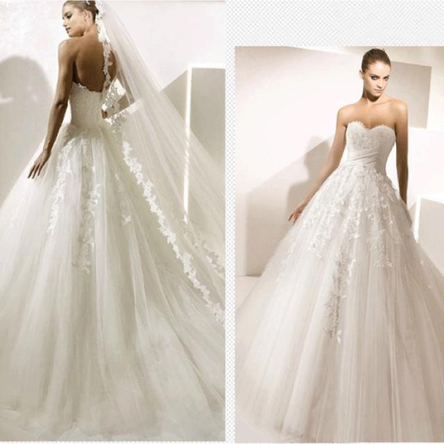 6583b09d1b7f8 アメリカ風ウェディングドレス、1点限定の通販 by beauty.dress shop|ラクマ