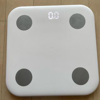 Xiaomi シャオミ スマート体組成計 XMTZC02HM(体重計/体脂肪計)