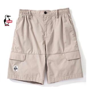 チャムス(CHUMS)の新品タグ付き CHUMS カーゴ ハーフ パンツ Mサイズ 定価6940円①(ショートパンツ)