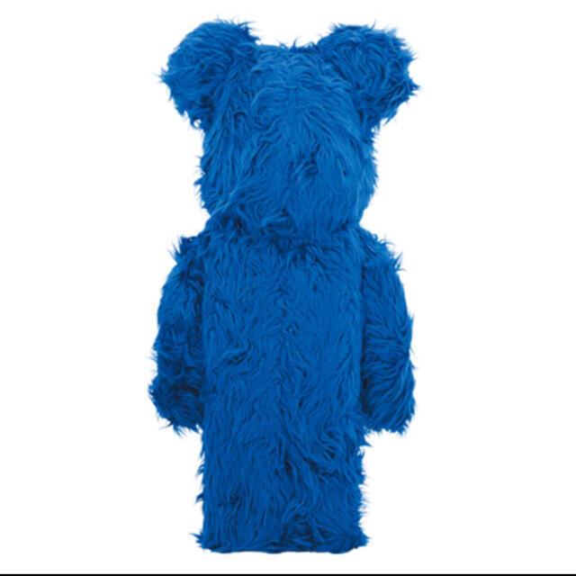 MEDICOM TOY(メディコムトイ)の新品未開封!BE@RBRICK COOKIE MONSTER 1000% エンタメ/ホビーのおもちゃ/ぬいぐるみ(キャラクターグッズ)の商品写真