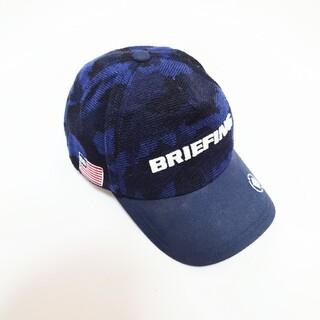 BRIEFING - ◇BRIEFING カモ柄 パイル生地 キャップ