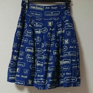 ジェーンマープル(JaneMarple)のロゴスカート(ひざ丈スカート)